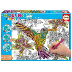 17083 Hummingbird Coloring...
