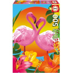 17737 Flamingos Educa 500...