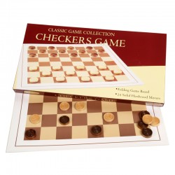 0506 Checker Game with Wood...