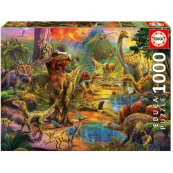 17655 Land Of Dinosaurs...