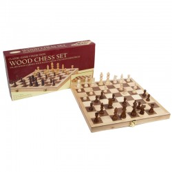 TM-3 Deluxe Wood Chess Set