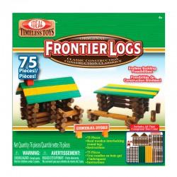 075L 75 Piece Frontier Logs