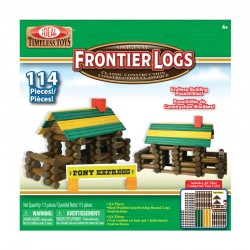 114L 114 Piece Frontier Logs