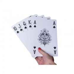 21 Giant Playing Cards