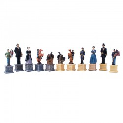 160043 Civil War Chessmen