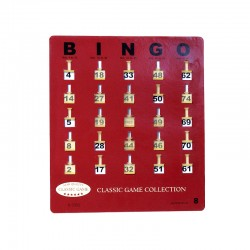 H-7352 Bingo Shutter Cards