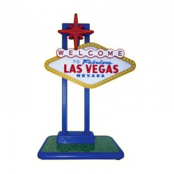 169 Flashing Las Vegas Sign