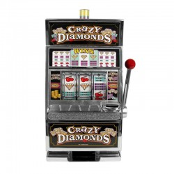 740 Crazy Diamonds Slot Bank