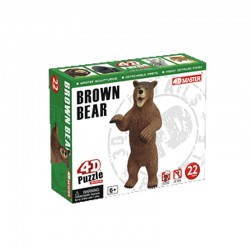 26465 4D Puzzle Brown Bear