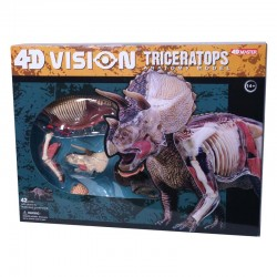 26652 4D Vision Triceratops...