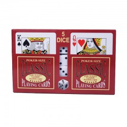 A555 Playing Card/Dice Set