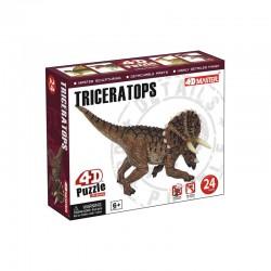 26421 4D Puzzle Triceratops...