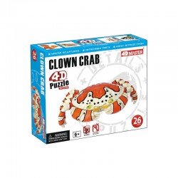 26547 4D Puzzle Clown Crab