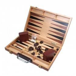 100958 Burlwood Backgammon