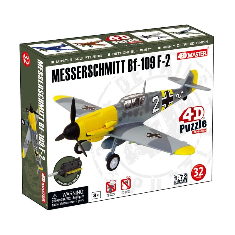 4D Puzzle Messerschmitt Bf-109 F-2