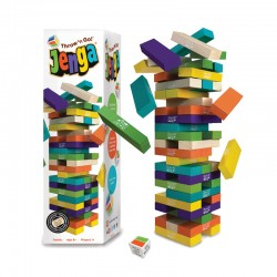 0312 JENGA® Throw 'n Go! Game