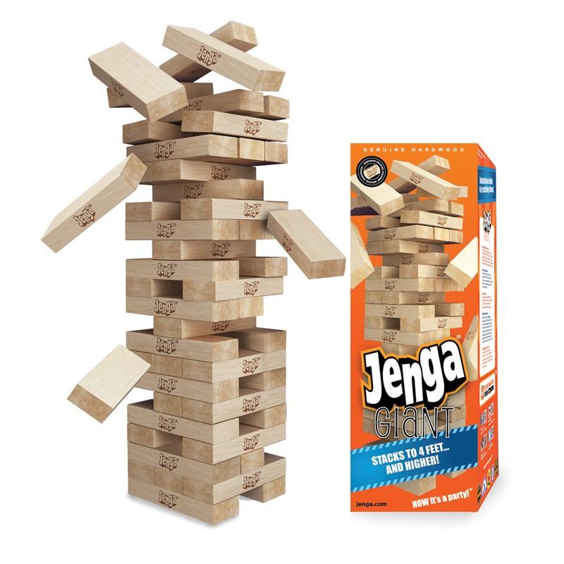 #01504 JENGA® 4-ft Giant Genuine