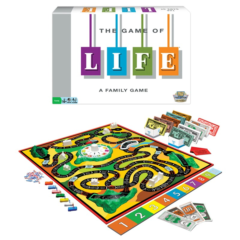 #1140 The Game of Life® Classic Edition Board Game