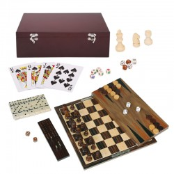 104947 Dark Wood 7-in-1...