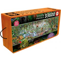 16066 Wildlife Puzzle Educa...